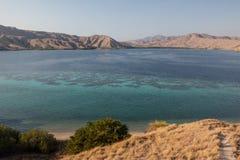 Ilhas e recife áridos franjar Foto de Stock Royalty Free
