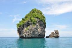 Ilhas e seascape Imagens de Stock Royalty Free