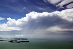 Ilhas em torno de Langkawi Fotografia de Stock Royalty Free
