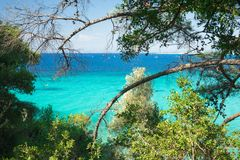 Ilhas Ionian, Grécia Fotografia de Stock