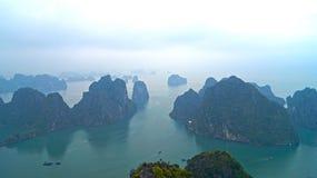 Ilhas longas da baía do Ha Fotos de Stock Royalty Free