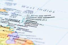 Ilhas no Caribean imagens de stock