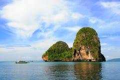 Ilhas no golfo de Sião, Tailândia Fotografia de Stock Royalty Free