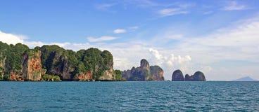 Ilhas no golfo de Sião, Tailândia Fotos de Stock Royalty Free