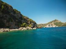 Ilhas turcas no ver?o fotografia de stock