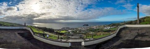 Ilheu da vila panoramic view Stock Photos