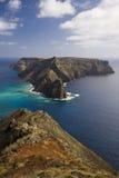 Ilheu de Baixo, îles de la Madère images libres de droits
