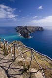 Ilheu de Baixo, (Ilheu DA caloría) islas de Madeira Foto de archivo