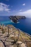 Ilheu de Baixo, (Ilheu DA Eao) îles de la Madère Photo stock