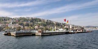 Ilhota de Galatasaray em Istambul Imagens de Stock