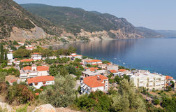 Ilia village, North Euboea, Greece Royalty Free Stock Photos
