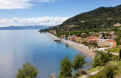 Ilia village, North Euboea, Greece Stock Photography