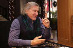 Ilie Nastase. Former world No. 1 professional tennis player, one of the world's top players of the 1970's. Nastase was ranked world No. 1 between 1973 (23 Stock Photo