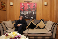 Ilie Nastase. Former world No. 1 professional tennis player, one of the world's top players of the 1970's. Nastase was ranked world No. 1 between 1973 (23 Royalty Free Stock Photos