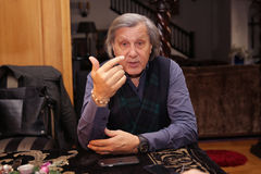 Ilie Nastase. Former world No. 1 professional tennis player, one of the world's top players of the 1970's. Nastase was ranked world No. 1 between 1973 (23 Stock Photography