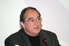 Ilie Serbanescu. Romanian economic analyst, ex-minister Stock Images