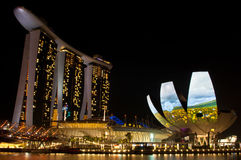 ILight  Marina Bay Festival Royalty Free Stock Photos