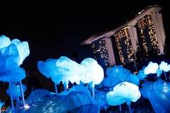 ILights 2017 de Marina Bay Photos libres de droits