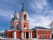 Iliinsky_temple_in_Voronezh Royalty Free Stock Photography