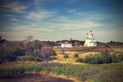 Ilinsky church at Suzdal Stock Photos