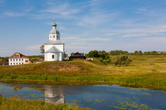 Ilinsky church at Suzdal Stock Images