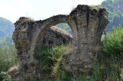 Ruins in Ilisu, a Greater Caucasus mountain village in north-western Azerbaijan