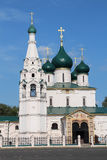Iliya The Prophet's Church in Yaroslavl. Russia Royalty Free Stock Photography