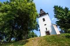 Ilja in Slowakei St. Gilles Church XIII vom Jahrhundert stockfotos