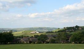 Ilkley Moor Stock Images