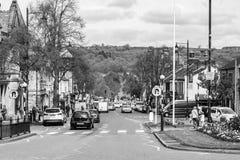 Ilkley-Stadtmitte Stockbilder
