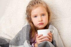 Ill del bambino fotografie stock libere da diritti