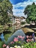 Ill del fiume, Strasburgo Immagini Stock Libere da Diritti