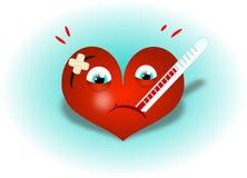Ill heart Royalty Free Stock Photography