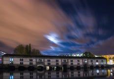 The Ill river in Strasbourg Stock Image