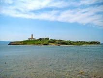 Illa d'Alcanada, peninsular Victoria, Majorca. Illa d'Alcanada - near village Urbanitzacio Gesa / peninsular Victoria (Talaia Alcudia Stock Photos