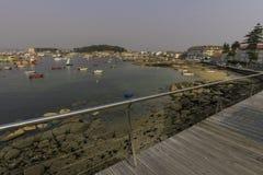 Illa de Arousa Pontevedra, Espagne images libres de droits
