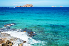 Illa de Espartar island in the Balearic Islands, Spain Royalty Free Stock Photos