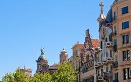 Illa de la Discordia - in Barcelona Royalty Free Stock Photos