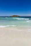 Illa des Conills od Formentera Zdjęcia Royalty Free
