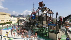 Illa Fantasia  Barcelona waterpark Stock Image
