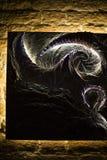 Illavarslande bild med beståndsdelar av basrelief royaltyfria bilder