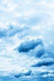 Illavarslande moln för mörker. royaltyfri foto