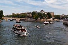 Ille de Saint Louis Paris France Stock Photo