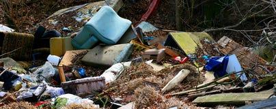 Illegal dump Stock Image