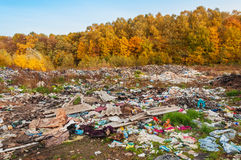 Illegal dump (waste) Royalty Free Stock Image