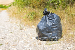 Illegal dumping in the nature Royalty Free Stock Image