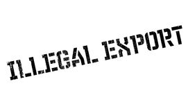 Illegal Export rubber stamp Royalty Free Stock Photography