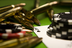 Illegal Gambling Stock Images
