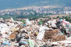 Illegal landfill Stock Photos