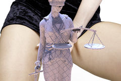 Illegal prostitution Stock Images
